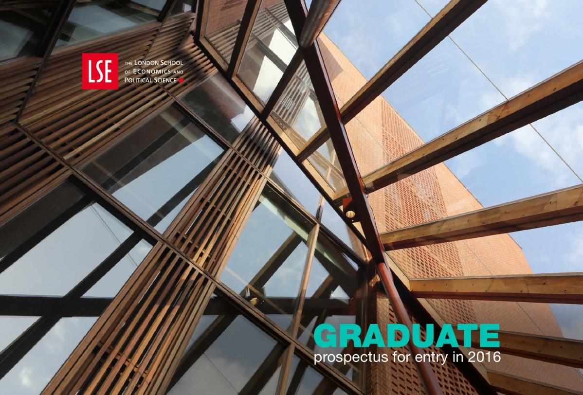Graduate Prospectus 2016