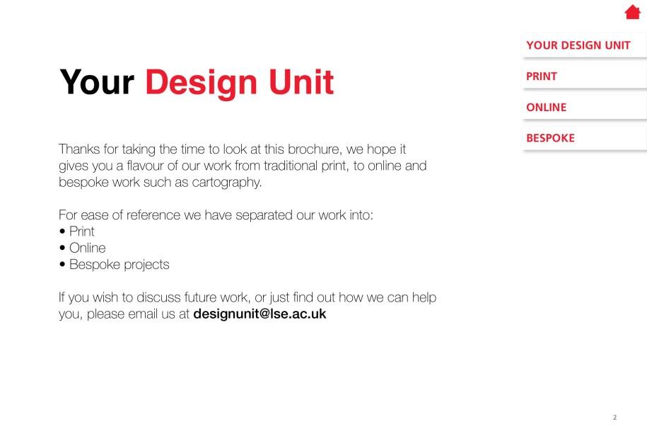 LSE Design Unit Portfolio