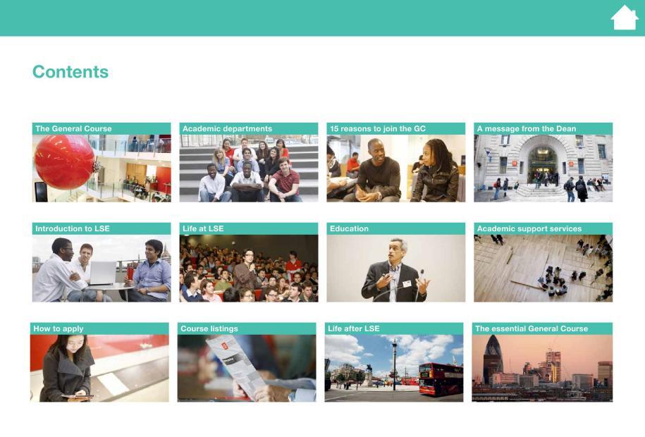LSE General Course Brochure 2014